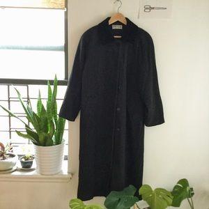 VTG Forecaster Wool long winter coat